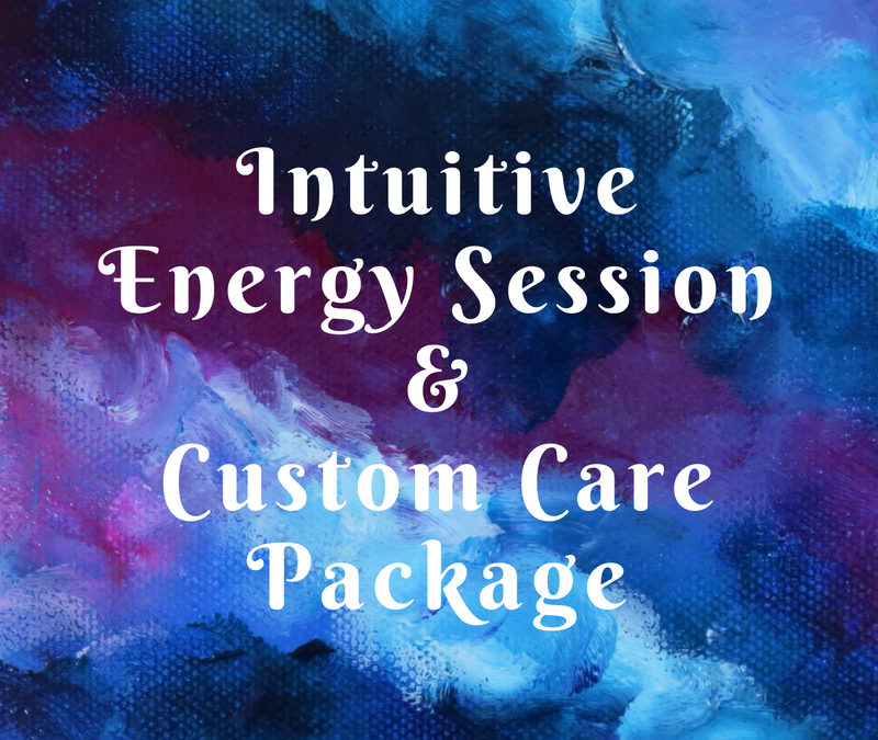 Intuitive Energy Session & Custom Care Package