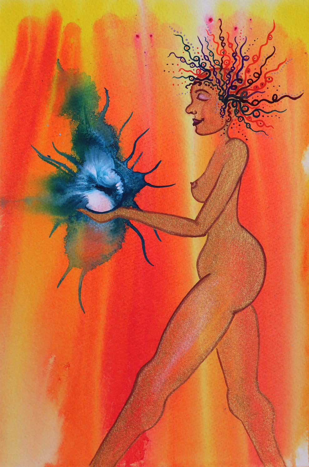 Visioning Card for the Divine Love Oracle Deck