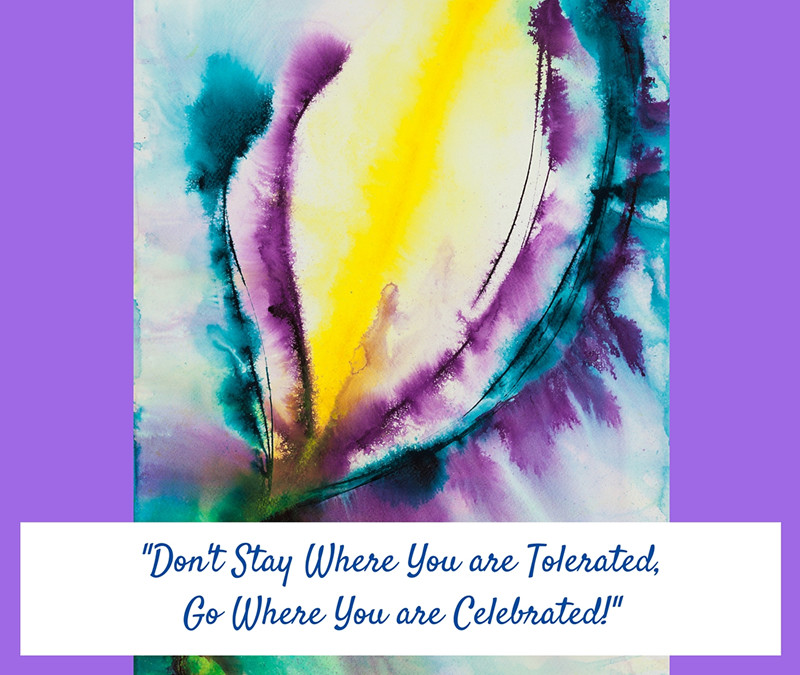 Surround Yourself with People who Celebrate You!